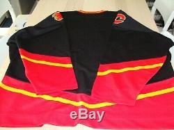 Calgary Flames 3rd Alternate Horse Pro Player Starter Men's 2XL Hockey Jersey