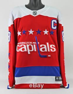 Capitals Alex Ovechkin Signed Red/White Fanatics Jersey w BAS & Fanatics COA