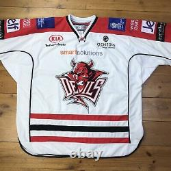 Cardiff Devils 2013/14 Ice Hockey Home Jersey Official CH Sports Replica Men XXL