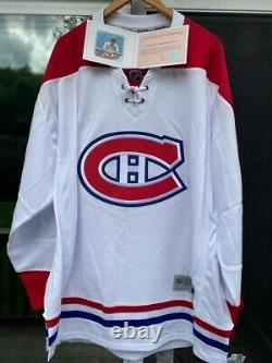 Carey Price Autographed (COA) Reebok Replica Montreal Canadiens Jersey XXL