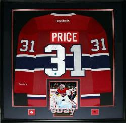 Carey Price Montreal Canadiens Signed Jersey NHL Hockey Collector Frame