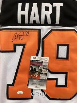 Carter Hart Signed Philadelphia Flyers Jersey JSA COA #79 Flyers Star NHL RARE