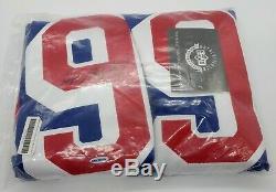 Cheap! Wayne Gretzky Signed UDA Upper Deck New York Rangers Blue CCM jersey