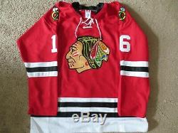 Chicago Blackhawks Bobby Hull Signed Red Number 16 Jersey With Ties Size 52! Coa