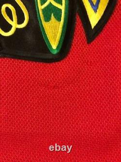 Chicago Blackhawks Patrick Sharp Signed Jersey 2015 Stanley Cup COA