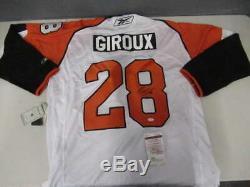 Claude Giroux Signed Autograph XXL Reebok CCM Flyers Jersey Jsa Coa Jsy373