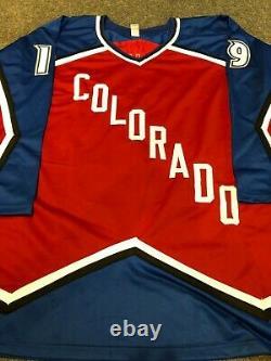 Colorado Avalanche Joe Sakic Autographed Signed Inscribed Jersey Aj Coa