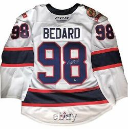 Connor Bedard Signed On Ice Pro Jersey