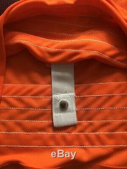 Connor McDavid Signed Captains Orange Oilers Jersey (COA)