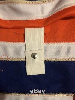 Connor McDavid Signed Orange Edmonton Oilers Jersey (COA)