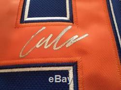 Connor Mcdavid Edmonton Oilers Mcjesus Rare NHL Hockey Jersey Jsa Signed Coa