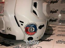 Connor Mcdavid Edmonton Oilers Signed Autographed CCM Game Helmet-bas Coa
