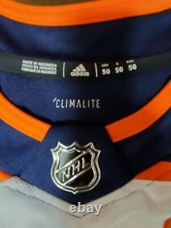 Connor Mcdavid Signed Autographed Authentic Adidas Edmonton Oilers Jersey