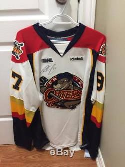 Connor Mcdavid Signed Erie Otters Road Jersey Rookie Signature Humboldt Broncos