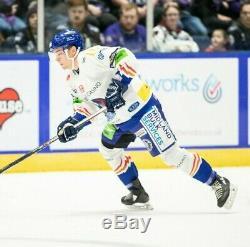 Coventry Blaze 2019-2020 #21 Chris Pohlkamp Game Worn Ice Hockey Jersey 2XL