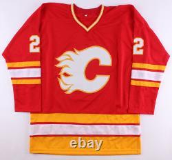 Craig Conroy Signed Calgary Flames Jersey (Beckett) Playing career 19942011