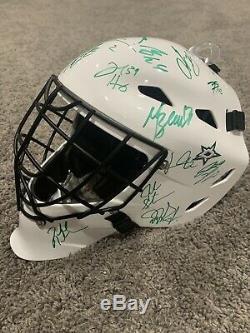 DALLAS STARS 2019-20 Team SIGNED Goalie Mask withCOA Radulov Heiskanen Lindell +
