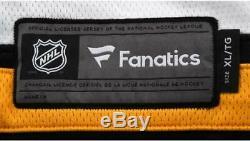 David Pastrnak Boston Bruins Autographed Black Fanatics Breakaway Jersey