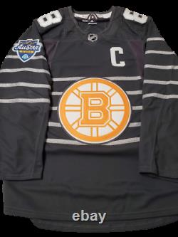 David Pastrnak Boston Bruins signed 2020 All-Star Jersey with ASG patch