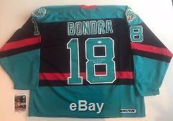 Detroit Vipers Jersey Peter Bondra (Capitals) Autographed Bauer XL JSA