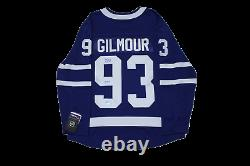 Doug Gilmour signed autograph Toronto Maple Leafs jersey