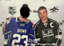 Dustin Brown #23 Signed Autographed LA Kings Dodgers NHL Hockey Jersey (Proof)