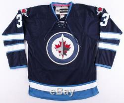 Dustin Byfuglien Signed Winnipeg Jets Jersey (PSA COA) NHL Career 2005present
