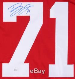Dylan Larkin Signed Detroit Red Wings Jersey (JSA) Playing career 2015present