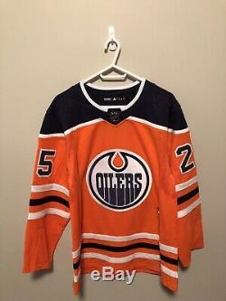 Edmonton Oilers Signed Adidas Pro Darnell Nurse Jersey Size 50 Frameworth COA