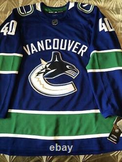 Elias Pettersson Signed Autographed Vancouver Canucks Adidas Jersey