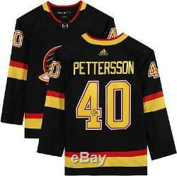 Elias Pettersson Vancouver Canucks Signed Black Alternate Authentic Jersey