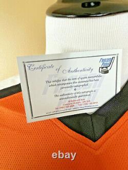 Eric Lindros Autograph Philadelphia Flyers Orange Jersey Fanatics Auto COA