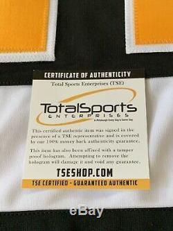 Evgeni Malkin Autographed/Signed Jersey TSE COA Pittsburgh Penguins