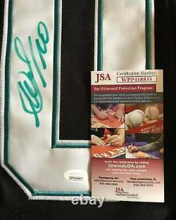 Evgeni Nabokov Autographed Custom Sj Sharks Jersey Jsa Witness Coa Black