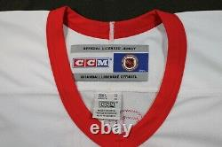 GORDIE HOWE Detroit Red Wings CCM Signed JERSEY withCOA TRISTAR Mr Hockey Rare