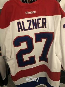 Game Worn Jersey Washington Capitals Karl Alzner