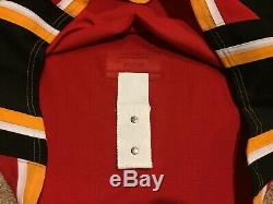 Garnet Hathaway Calgary Flames Game Issue Jersey Authentic Reebok Edge 2.0