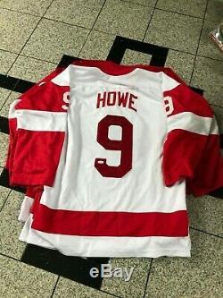 Gordie Howe Mr Hockey Autograph / Signed Custom Jersey XL Detroit Red Wings Jsa