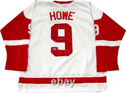 Gordie Howe Mr. Hockey Autographed Detroit Red Wings Jersey (PSA)