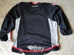 Grand Rapids Griffins SIGNED Jersey AHL 1996-2014 Signed 20 seasons CCM STRAP