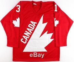 Grant Fuhr Signed Team Canada Jersey (JSA COA)