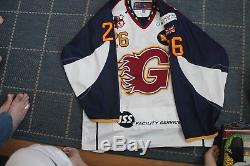 Guildford Flames' Game Worn Home Ice Hockey Jersey