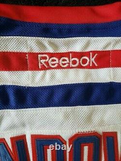 HENRIK LUNDQVIST New York Rangers Autographed SIGNED Hockey Reebok Jersey Becket