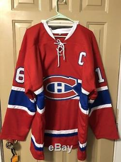 Henri Richard Signed Montreal Canadiens Jersey 11 Cups