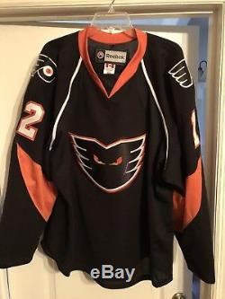 Ian Slater Phantons Hockey Jersey Flyers Solar Bears Game Worn AHL