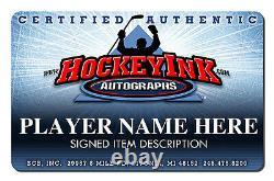 J. S. GIGUERE Signed Anaheim Ducks Reebok Alt. Jersey 2007 Stanley Cup Champ