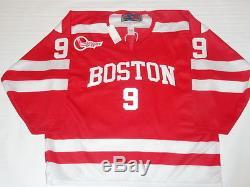Jack Eichel Signed Boston University Terriers #9 Ncaa Hockey Jersey Jsa Coa