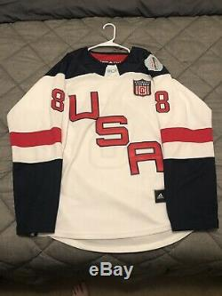 Joe Pavelski (Team USA) WCH Signed Jersey Size XL in Person. Beckett Certified