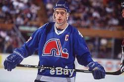 Joe Sakic Quebec Nordiques Signed CCM Vintage Jersey Cup Psa/dna Coa X86115