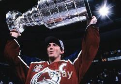 Joe Sakic Signed Colorado Avalanche CCM 1996 Stanley Cup Jersey Jsa Coa F61807